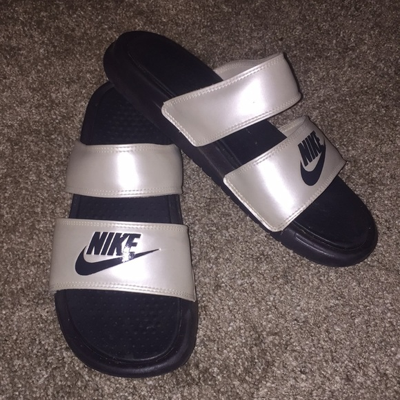 Nike Shoes   Nike Two Strap Sandals